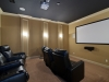 Downstairs theatre room
