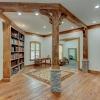 Cozy library area