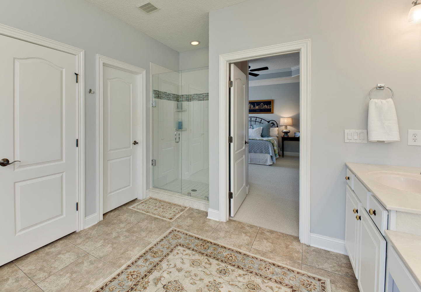 Owners Bath with walk in shower