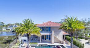 Pool Home on Intracoastal